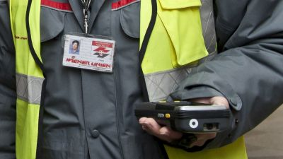 Ticket inspection, inspector id card and electronic inspection Vienna © Wiener Linien / Thomas Jantzen