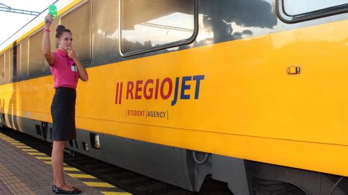 RegioJet Train Prague © RegioJet