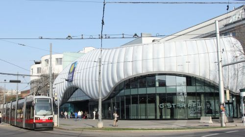 Danube Center Shopping Mall (Donauzentrum) Vienna © darkweasel94 - Own Work, Wikimedia